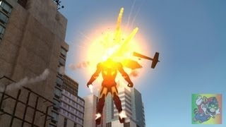 Iron Man IV HD Gameplay [GTA IV - Player + Script Mod]