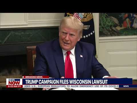 LAWSUIT TIME: President Trump Sues Wisconsin Over Election Fraud Claims | NewsNOW From FOX