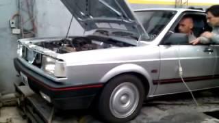 VW Gacel 1.8 8V Turbo @10 Psi. MS1 Extra 4 X 650cc Ford Racing inj.