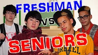 High School: Freshman vs Seniors