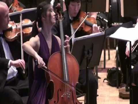 Sophie Shao: Elgar Cello Concerto in E Minor, Op. 85, 3rd Mvmt.