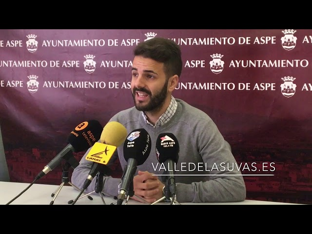 Rueda de prensa para presentar las propuestas de los Presupuestos Participativos en #Aspe