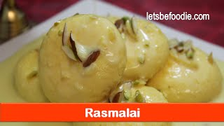 Indian sweets recipes:Rasmalai recipe/delicious desserts/easy homemade mithai recipe-let