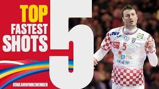 Top 5 Fastest Shots | Day 17 | Men's EHF EURO 2020