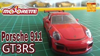 REVIEW: MAJORETTE Porsche 911 GT3 RS (2018) #majorette#porsche911#gt3rs