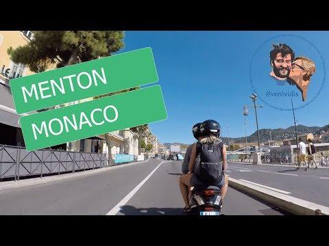 Nice - Monaco, Menton yolu [Full HD]
