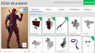 Creating the deadpool profile(ROBLOX)./joseluis xpro/