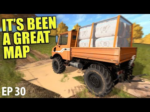 IT'S BEEN A GREAT MAP   Farming Simulator 17   The Valley The Old Farm - Episode 30