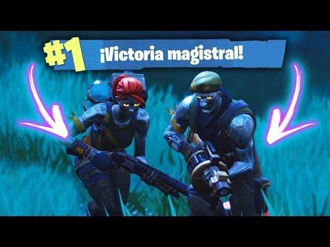 EPICIDAD METALICA LUZUFLOO! Fortnite Battle Royale