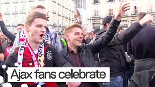 Fan Reactions after Ajax Beat Real Madrid in Champions League