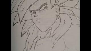 Drawing Super Saiyan 4  Goku (Dragon Ball GT)
