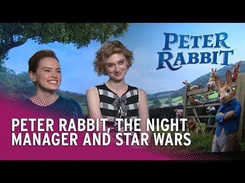 Daisy Ridley & Elizabeth Debicki on Peter Rabbit, Star Wars and The Night Manager