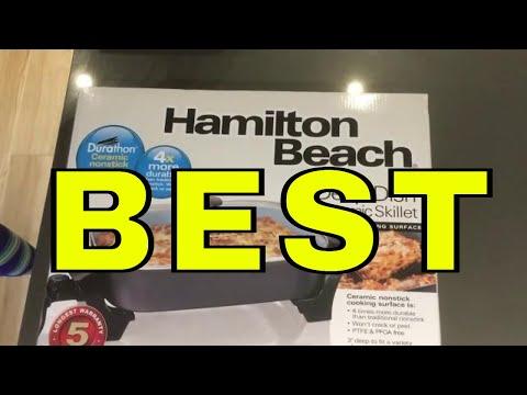 Hamilton Beach 38528C Durathon Deep Dish Ceramic Skillet [UNBOXING]