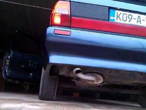 Audi Coupe B2 2.0 exhaust sound