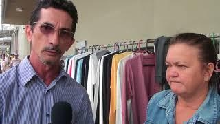 Feirantes de Morada Nova desrespeitam executivo e voltam ao antigo local
