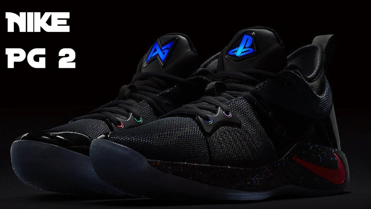 54ce9bcf18a Der limited Nike PG 2 Playstation - YouTube