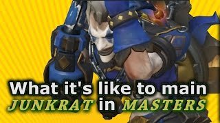 Overwatch - What it's like to main Junkrat in Masters