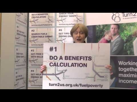 Madeleine Moon, MP supports Turn2us Fuel Poverty campaign