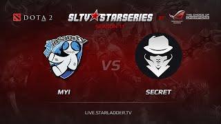 mYi vs Secret, SLTV Europe Season 11, Day 9