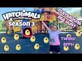 NEW Hatchimals CollEGGtibles Season 3 - Twins and Best Friends! Playground Egg Hunt - Episode 1