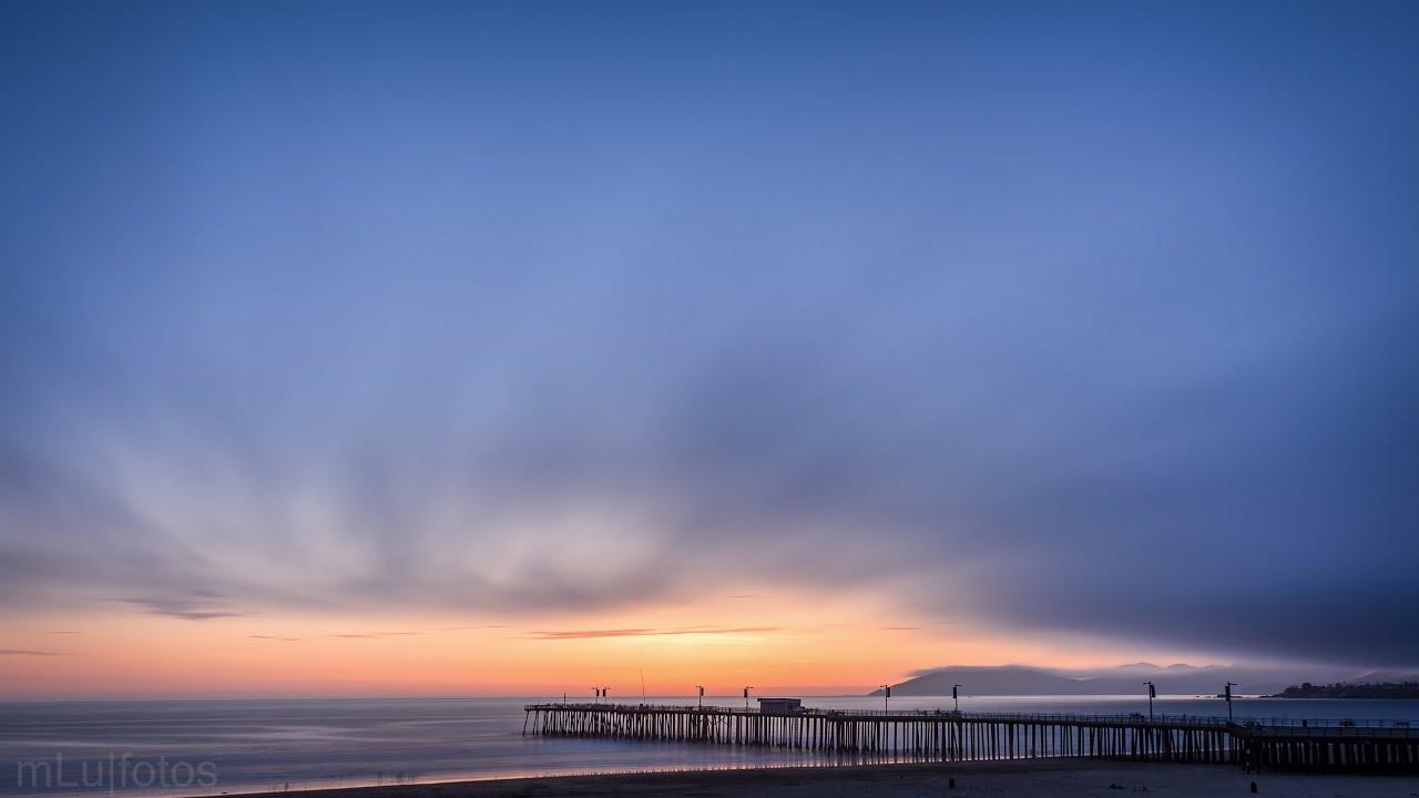 Timelapse Pismo Beach Sunset 4k 2160p Youtube