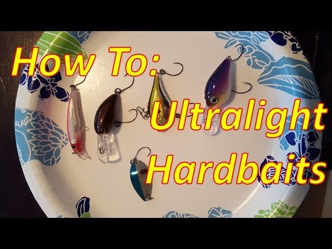 How To: BFS Ultralight Hardbait Lures (single Hooks)