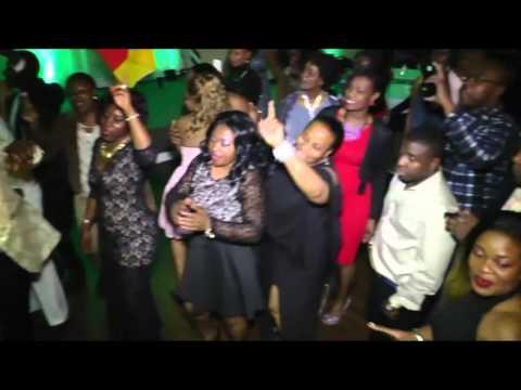 Elvis Kemayo Live Atlanta - ABA Party -  Dec. 2015
