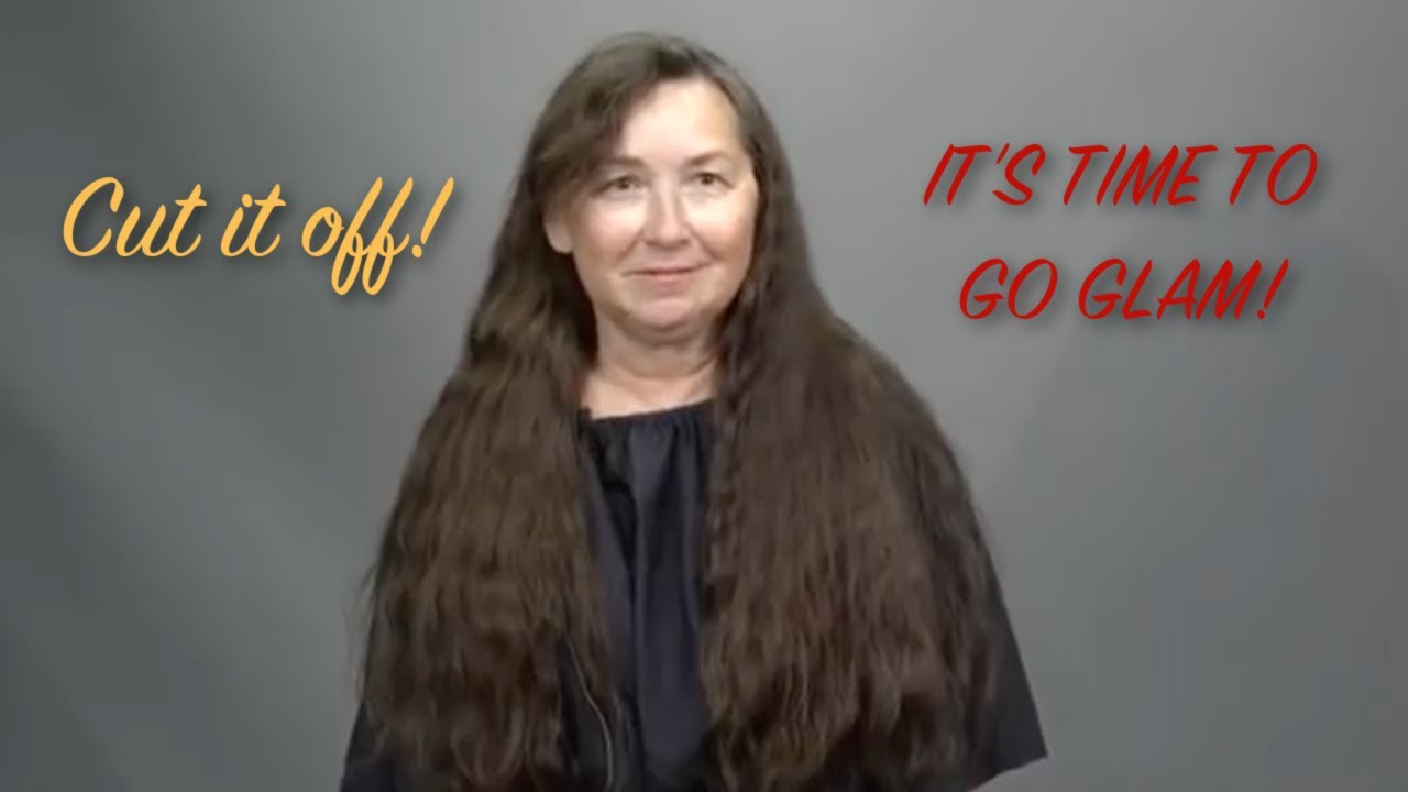 63 Year Old Woman Cuts Off Long Hair For the First Time Since 1st Grade: A MAKEOVERGUY® Makeover