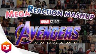 Marvel Studios' Avengers: Endgame | Special Look - MEGA Reaction Mashup