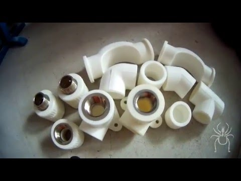 Фитинги для полипропиленовых труб и что вы о них не знали