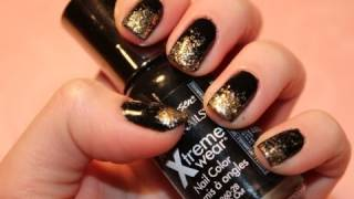 Tutorial New Years Eve Nails