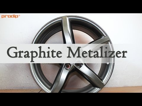 Graphite Metalizer over Plasti Dip Black Solid Base Coat