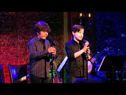 Joshua Colley performing at 54 Below