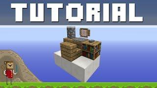 Minecraft Detail Tutorial - A Computer Desk ! ! !