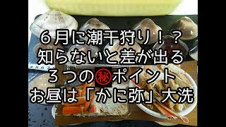 茨城で6月に潮干狩りは出来るのでしょうか? 知っておきたい3つのポイ...
