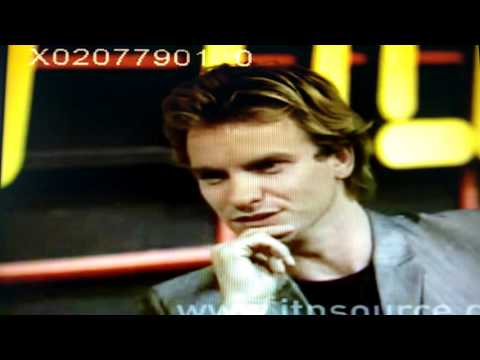 Sting 1979 interview on Quadrophenia, music and youth movements [ITV Tyne Tees]