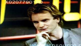 ITV Tyne Tees: Sting 1979 interview on Quadrophenia, music and youth movements