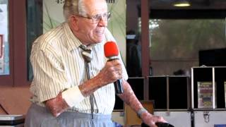 Fred Hafner sings It Happened in Monterey 3 days before his 100th birthday