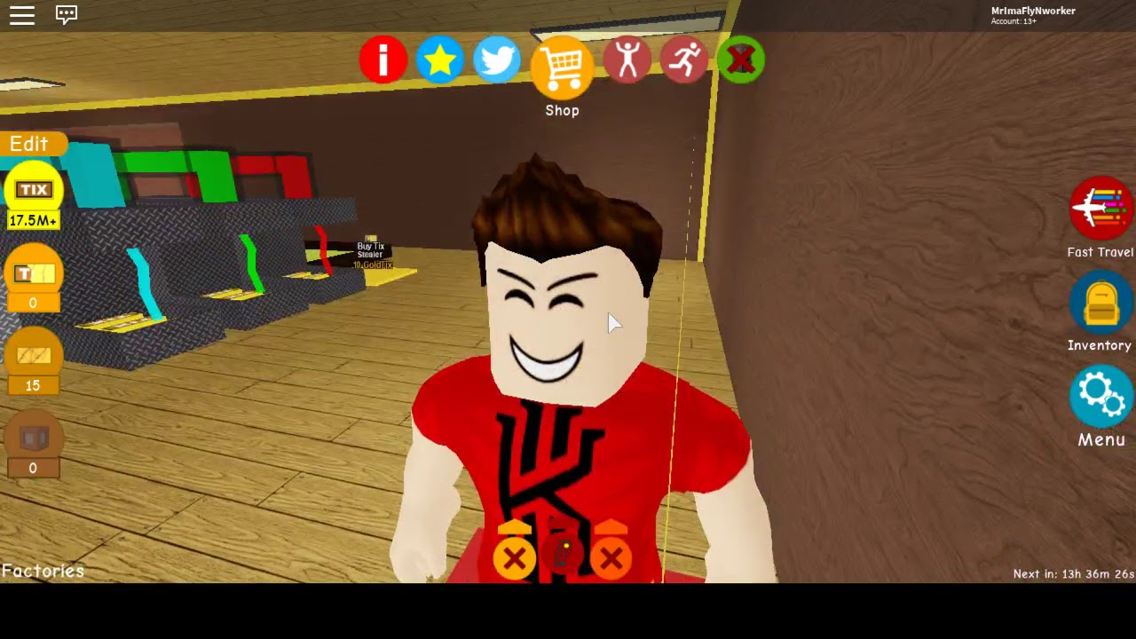 Tix Factory Tycoon Roblox Bunker Code Roblox Tix Factory Tycoon How To Get Yellow Suit And Tixie The Doge Location By A Roblox Noob