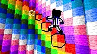 КАК ПРОЙТИ ПО ЭТИМ НЕВИДИМЫМ БЛОКАМ! - (Minecraft Dropper)