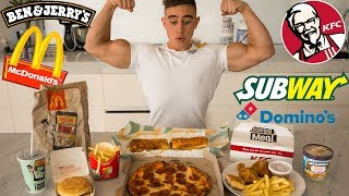 Fast Food Eating Challenge