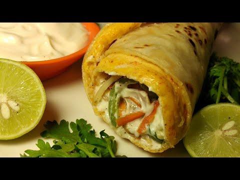 Egg Veg Roll Recipe || Veggie Egg Rolls ||अंडा वेज रोल - Ramzaan Special Rolls - English Subtitles