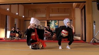 2011.4.15 熊本城・本丸御殿 春の宴 川尻をどり (出演)ザ・わらべ、中...