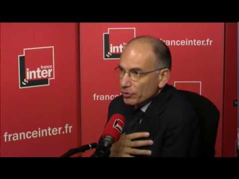 """Enrico Letta : """"Il faut partager le poids de l'accueil des migrants dans toute l'Europe"""""""