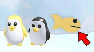 HOW TO WIN PET PENGUIN ON ADOPT ME-ROBLOX