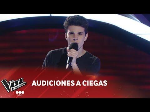 """Tomás Maldonado - """"Friends"""" - Justin Bieber - Audiciones a Ciegas - La Voz Argentina 2018"""