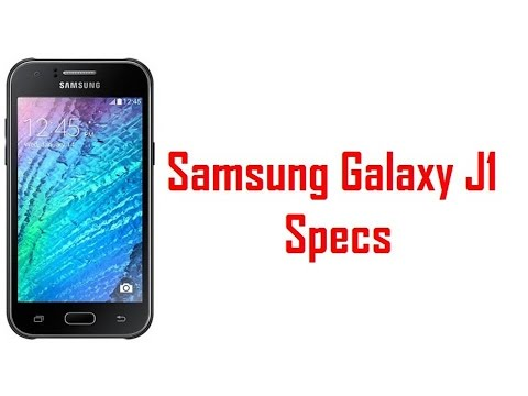 Samsung Galaxy J1 Specs & Features