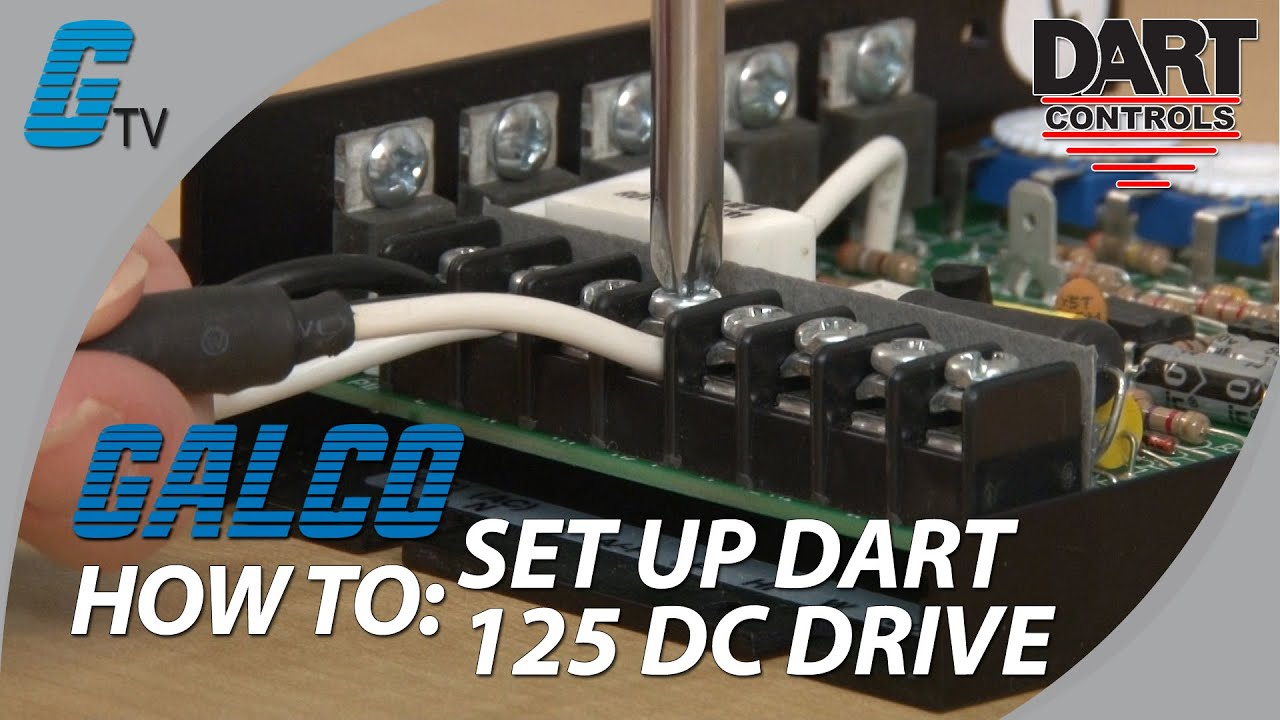 maxresdefault how to set up the dart controls 125 series of dc drives youtube dart controls 250 series wiring diagram at gsmx.co