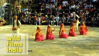 Nepali dance troupe performs Maruni dance in Mizoram