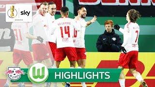 RB Leipzig - VfL Wolfsburg 1:0 | Highlights - DFB-Pokal 2018/19 | Achtelfinale